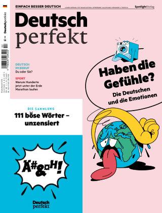 Deutsch perfekt - Einfach besser Deutsch 02/2019