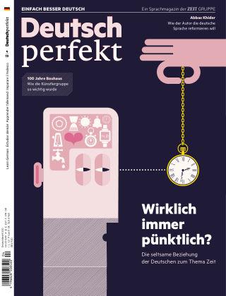 Deutsch perfekt - Einfach besser Deutsch 04/2019