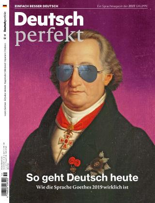Deutsch perfekt - Einfach besser Deutsch 11/2019