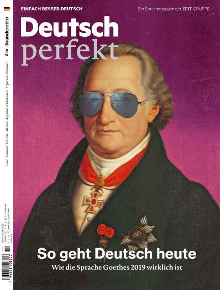 Deutsch perfekt - Einfach besser Deutsch September 04, 2019 00:00
