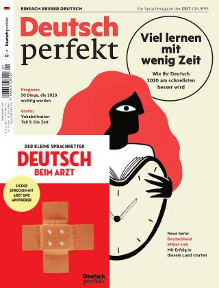 Deutsch perfekt - Einfach besser Deutsch 01/2020