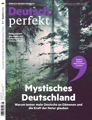 Deutsch perfekt - Einfach besser Deutsch 08/2020
