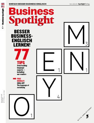 Business Spotlight - Einfach besser Business-Englisch 03/2018
