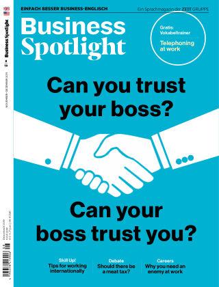 Business Spotlight - Einfach besser Business-Englisch 08/2019