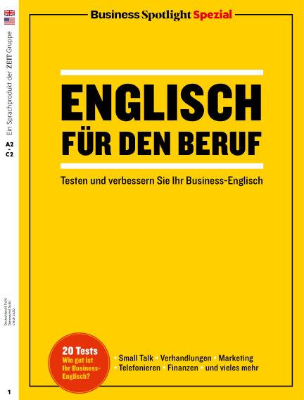 Business Spotlight Spezial - Englisch für den Beruf December 19, 2019 00:00
