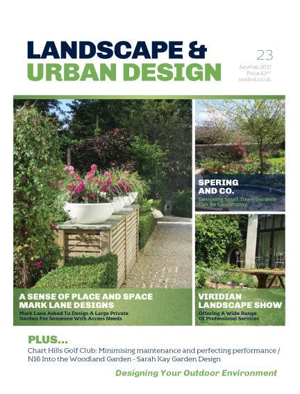 Landscape & Urban Design January 27, 2017 00:00