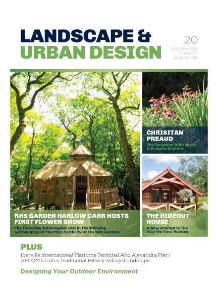 Landscape & Urban Design January 24, 2017 00:00