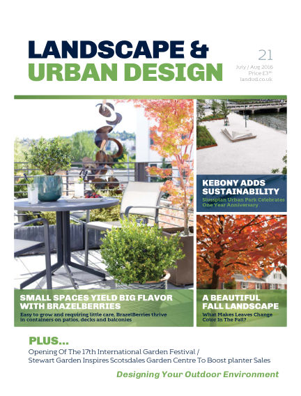 Landscape & Urban Design January 25, 2017 00:00