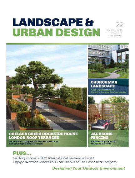 Landscape & Urban Design January 26, 2017 00:00