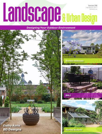 Landscape & Urban Design July 12, 2017 00:00