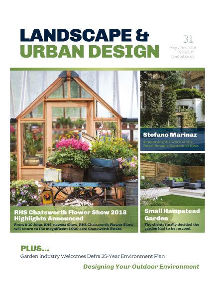 Landscape & Urban Design May 04, 2018 00:00
