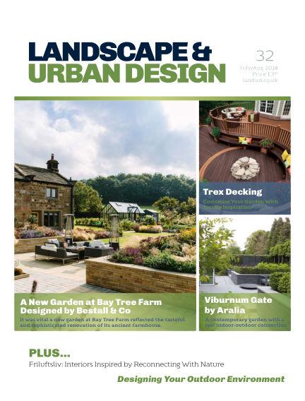 Landscape & Urban Design July 01, 2018 00:00