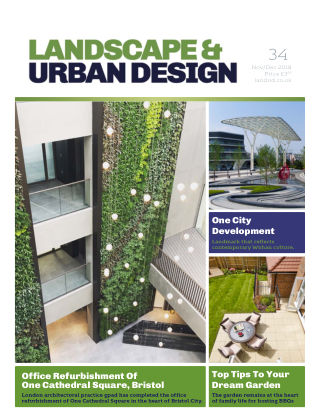 Landscape & Urban Design issue 34