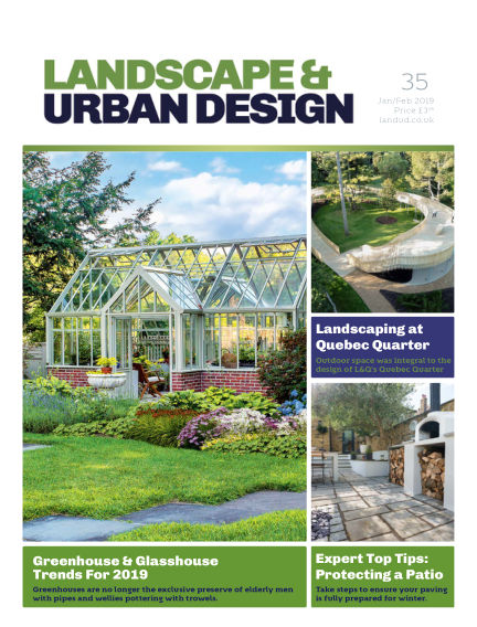 Landscape & Urban Design January 09, 2019 00:00