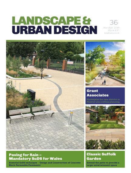 Landscape & Urban Design March 01, 2019 00:00