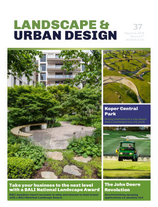 Landscape & Urban Design Issue 37