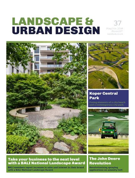 Landscape & Urban Design May 01, 2019 00:00