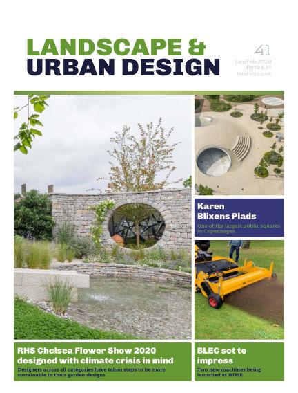 Landscape & Urban Design January 07, 2020 00:00