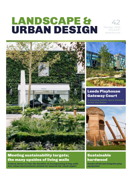 Landscape & Urban Design March 04, 2020 00:00