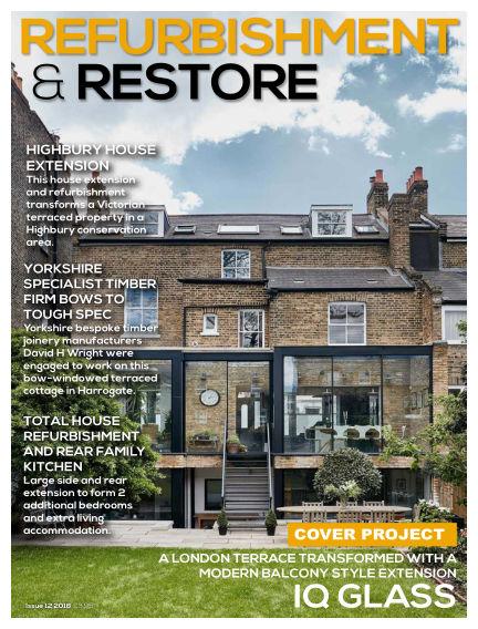 Refurb & Restore September 12, 2018 00:00