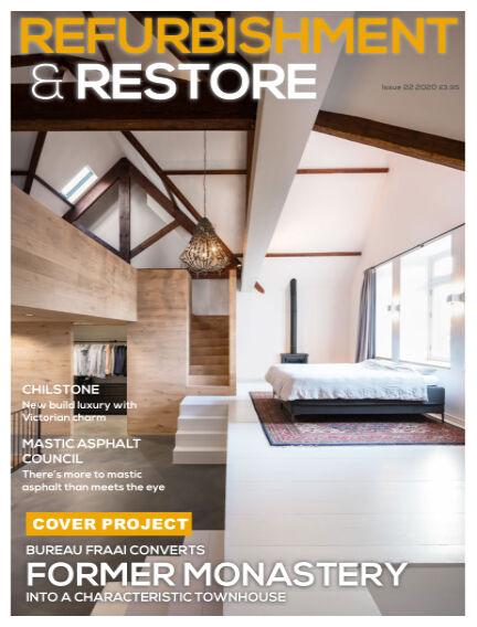 Refurb & Restore November 03, 2020 00:00