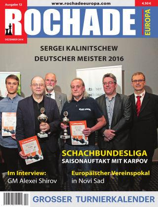 Rochade Europa 2016/12