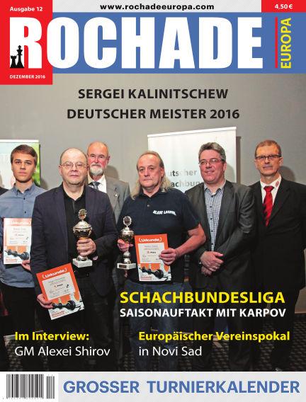 Rochade Europa November 30, 2016 00:00