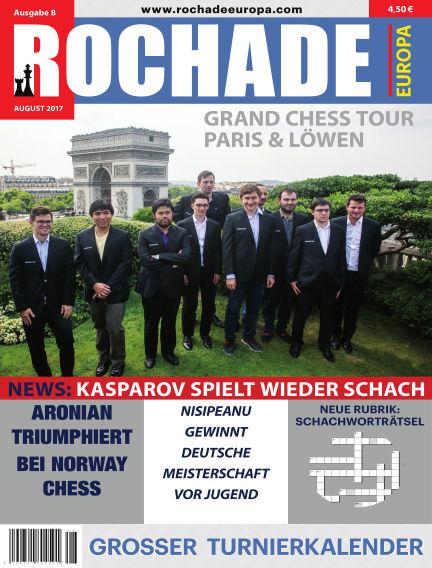 Rochade Europa August 01, 2017 00:00