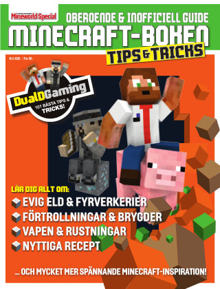 Minecraft-boken: Tips och tricks 2017-03-06