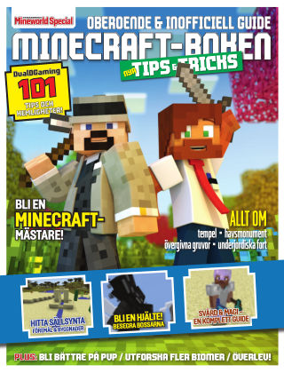 Minecraftboken - Nya tips & tricks 2+17-03-20