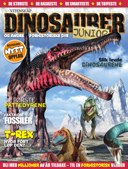 Ny Vitenskap – Dinosaurer Junior #2 September 09, 2017 00:00