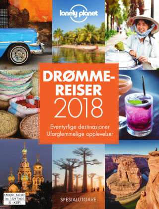 Lonely Planet Drømmereiser 2018 2017-11-27