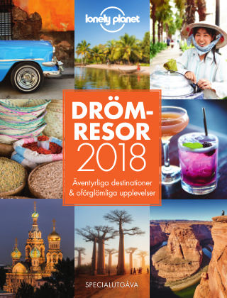 Lonely Planet Drömresor 2018 2018-01-19
