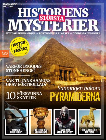 Historiens största mysterier July 14, 2018 00:00