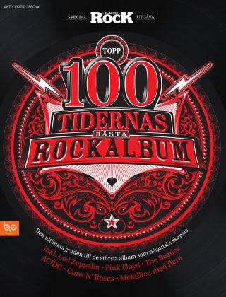 Topp 100 – Tidernas bästa rockalbum 2018-07-28