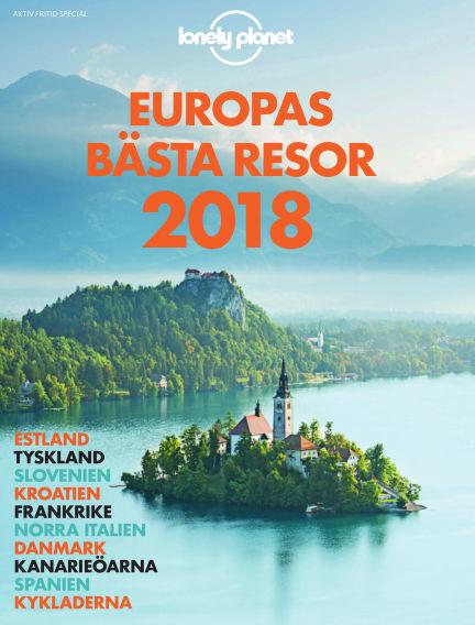 Lonely Planet: Europas bästa resor 2018