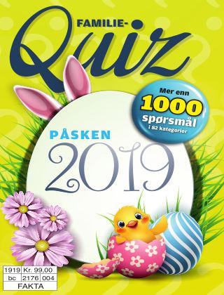 Familiequiz: Påske 2019-06-25