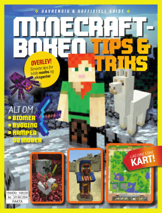 Minecraft-boken Tips & Triks 2019-11-22