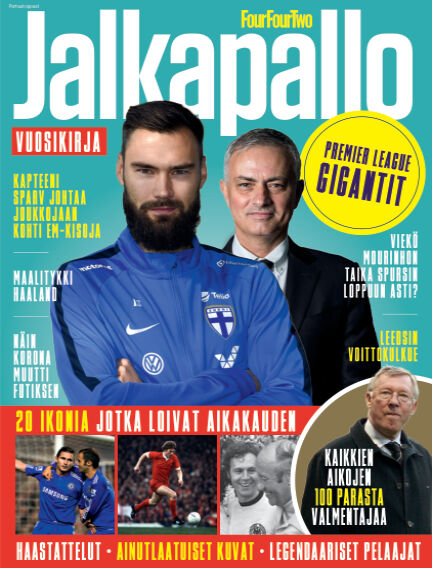 FourFourTwo Jalkapallo Vuosikirja 2020