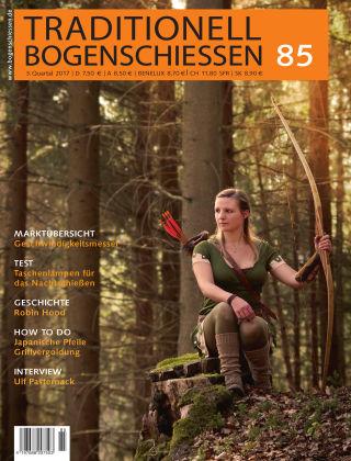 Traditionell Bogenschießen #85 3/2017