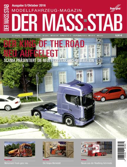Der MASS:STAB September 30, 2016 00:00