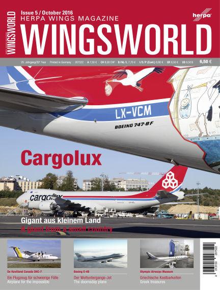 WingsWorld September 30, 2016 00:00