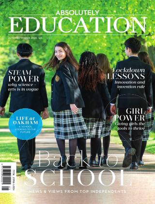 Absolutely Education Autumn/Winter 2020