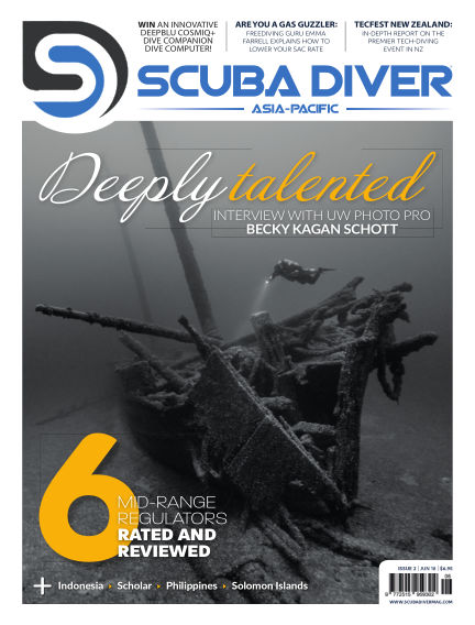 Scuba Diver – Asia Pacific Edition May 15, 2018 00:00