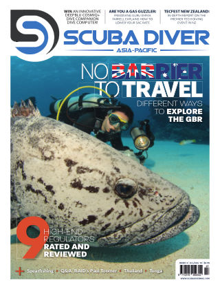 Scuba Diver – Asia Pacific Edition July18