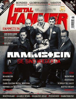 Metal Hammer - DE NR.006 2019