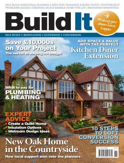Build It - plan, design & build your dream home October 01, 2016 00:00