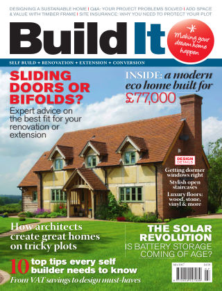 Build It - plan, design & build your dream home July 2017