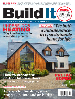 Build It - plan, design & build your dream home September 2017