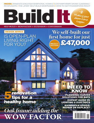 Build It - plan, design & build your dream home November 2017